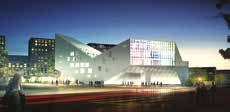 Millon métallerie est sur le chantier de l'auberge de jeunesse de Lille.