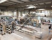 Proferm dispose d'un outil de production moderne et innovant de 7 000 m2 en plein cœur de la zone industrielle Artois-Flandres de Douvrin.