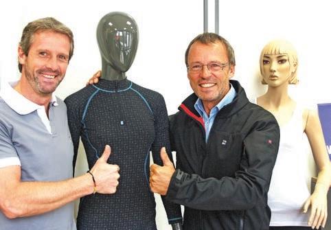 Olivier Trentesaux et Philippe Danckaert ont trouvé la solution pour faire du bateau sans mal de mer.