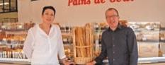Pascal et Karine Suivre dans leur première boulangerie de 500 m2, inaugurée au sud de Vérone, à Villa Franca de Verona.
