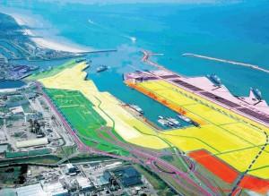 Le projet du Port de Calais repose sur des investissements de près de 700 millions d'euros.