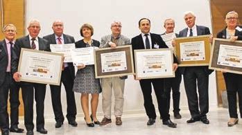 Les lauréats 2014.