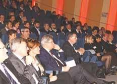 La soirée a réuni environ 200 dirigeants de la région très sensibilisés à l'international.