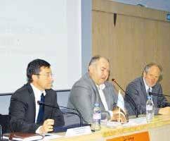 De gauche à droite : Stéphane Raison, François Soulet de Brugière et Yves Lalot.