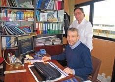Thierry Lampe, chargé de mission du GIE Opale achats (à gauche), et Aymeric Chrzan, secrétaire général du Syndicat général des mareyeurs boulonnais et du Syndicat national des saleurs-saurisseurs.