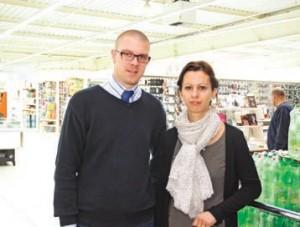 Hans et Ludivine Decroos ont repris l'entreprise familiale il y a trois ans et veulent faire progresser le chiffre d'affaires de leur magasin de 30% d'ici à deux ans.