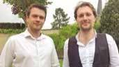 Mathieu Androloge et Clément Nempont.
