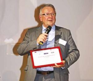 Pierre Riou ému d'avoir été désigné Autodidacte de l'année pour la région Nord.