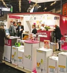 Le stand Nord-Pas-de-Calais rassemblait une douzaine d'entreprises régionales.