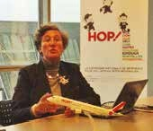 Hélène Abraham a présenté les résultats de la compagnie.