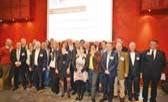 """Les membres actuels du groupe """"BNI Lille en Nord"""", dont le comité de direction est composé de Virginie François (présidente), Joël Vene (vice-président) et Benjamin Morgand (secrétaire/trésorier)."""