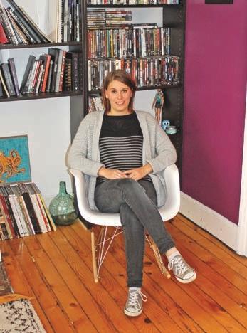 Céline Haudiquet a fait d'une passion pour la déco son métier : elle est aujourd'hui coach en décoration d'intérieur.