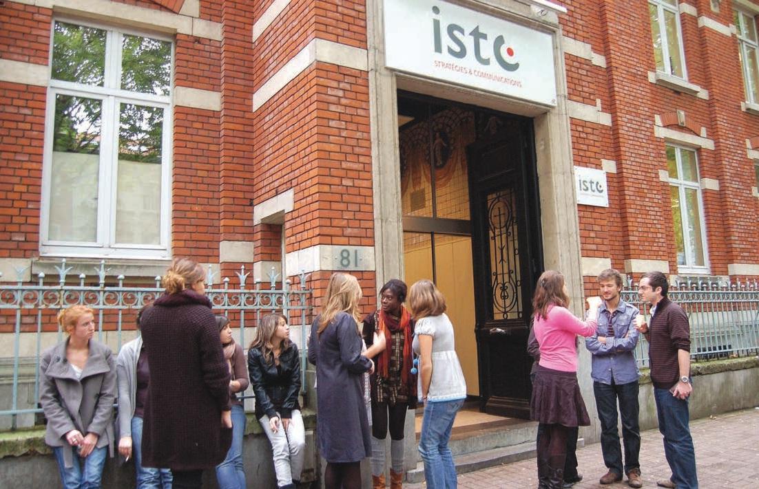 L'ISTC a élu domicile boulevard Vauban à Lille.