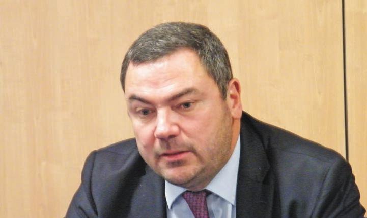 Pascal Lebard, PDG du groupe Sequana, propriétaire d'Arjowiggings.