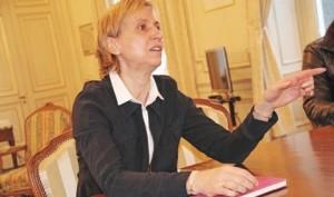 """Lors de l'échange avec la presse, Fabienne Buccio s'est présentée simplement : """"je viens comme je suis""""."""