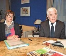 Martine Filleul et Didier Manier ont présenté le contrat de territoire de la métropole lilloise.