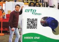 Stéphane Bremer présente l'innovation d'ERTP Hibon.