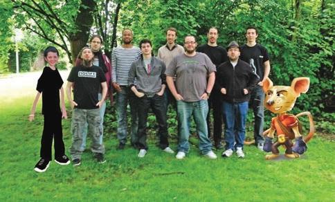 L'équipe de Seaven Studio.