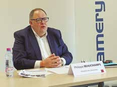 Philippe Beauchamps, président du directoire.
