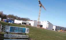 Une vue sur le chantier en mars 2015. La réception des travaux devrait intervenir en fin d'année.