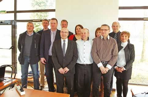 Le nouveau bureau du club Portes de Béthune entreprises a été élu lors de l'assemblée générale constitutive du 23 mars.