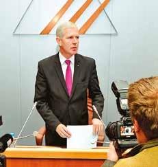 Michel Dagbert, président du nouveau conseil départemental du Pas-de-Calais.