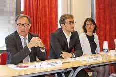 Daniel Huart, directeur régional, Benoît Werquin et Elisabeth Vilain.
