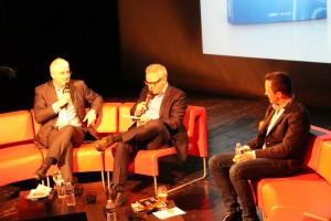 De g. à d. : Bruno Jarosson, Franck Sprecher et Cédric Tranchon.