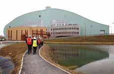 L'incinérateur de Flamoval est situé sur le parc d'activité de la Porte-Multimodale-de-l'Aa à Arques..