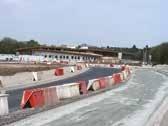 Le chantier du complexe nautique de Louvroil mené sur une ancienne friche Usinor. Un rond-point d'accès était en cours de création fin avril.