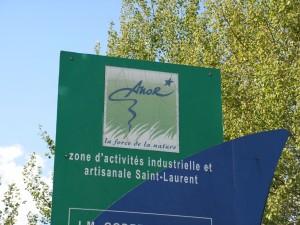 C'est dans l'actuelle zone d'activité du hameau Saint-Laurent, à Anor, qu'est prévu ce projet de site industriel de fabrication de granulés de bois.