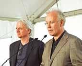 Kees Kaan et Jean-Pierre Pranlas- Descours, architectes du projet.