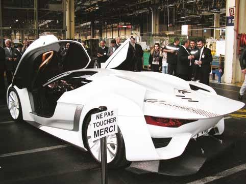 Un concept car venu du siège du groupe.