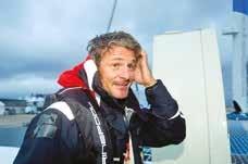 Sydney Gavignet, skipper transocéanique de classe internationale.