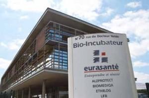 C'est au sein du bio-incubateur Eurasanté que certaines entreprises parmi les plus innovantes du secteur peuvent naître. © Corentin Escaillet VF Bioscience exporte ses produits aux Etats-Unis, au Japon, aux Philippines...