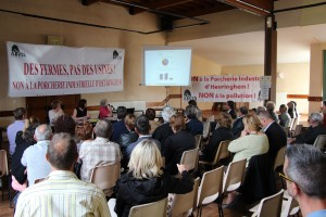 L'assemblée générale de l'association Intervillages pour un environnement sain à Heuringhem le 1er juin dernier.