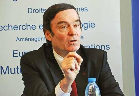 Jean-François Cordet, préfet de région.
