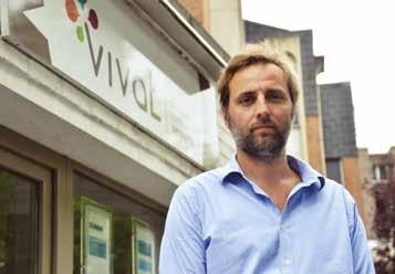 Arnold Fauquette, dirigeant de VIVAT, parvient à se faire une place dans le marché régional en dépit de difficultés liées à ce dernier.