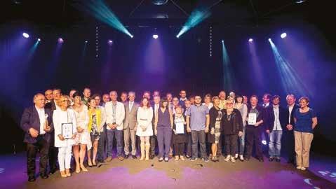 Les lauréats 2015.