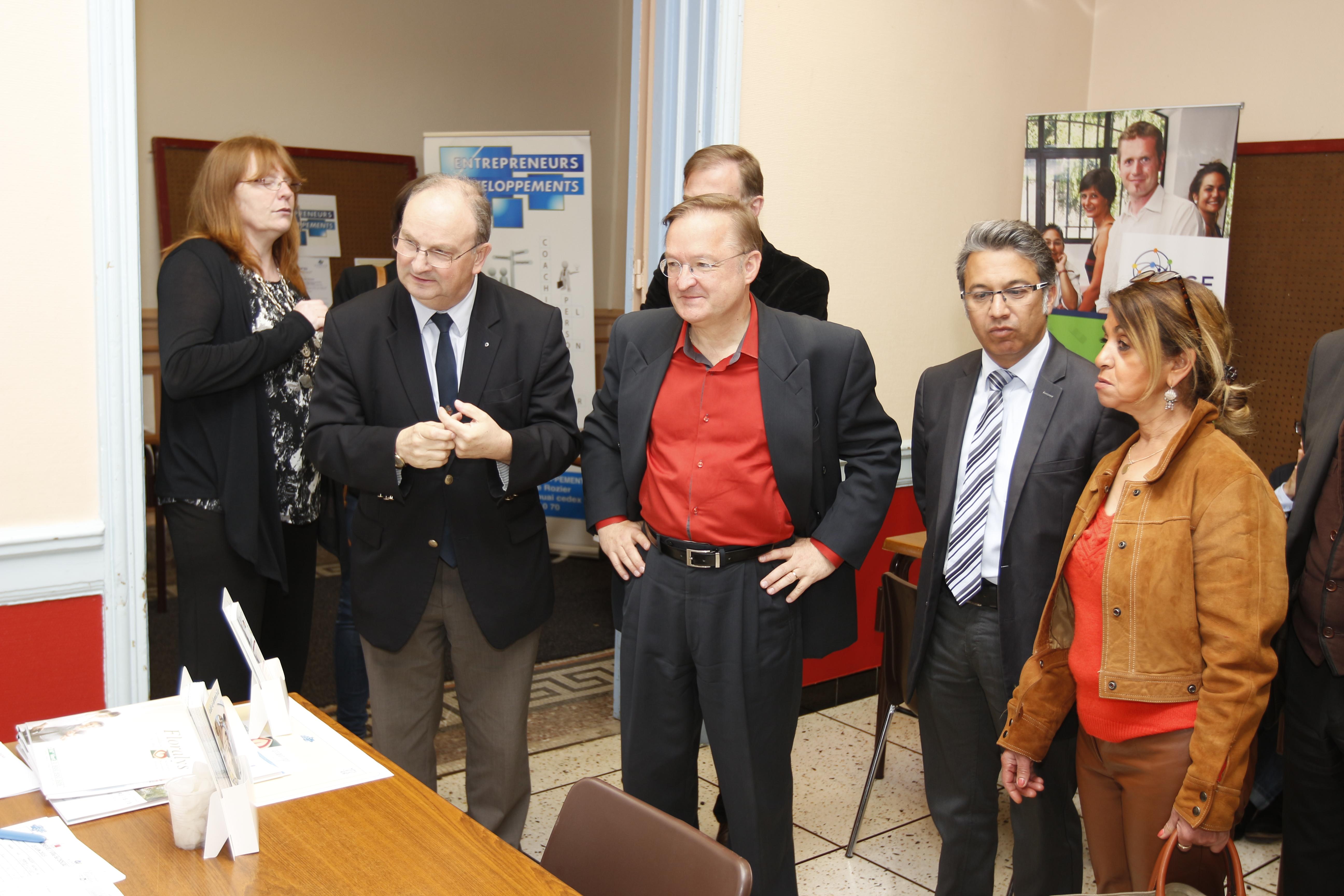 Norevie et entrepreneurs et d veloppements se mobilisent for Salon emploi nord