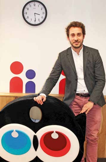 Arnaud Burgot, directeur général d'Ulule, la première plate-forme de financement participatif française et européenne en nombre de projets financés et de montants collectés.