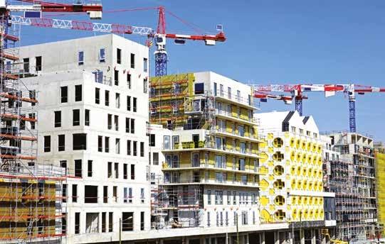Alors qu'au plan national, les permis de construire dans le logement reculent de 2,8%, la région se distingue avec une hausse de 2% lors du dernier trimestre 2014.