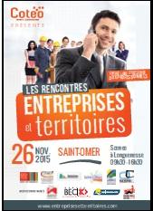 """L'affiche du salon """"Entreprises et Territoires""""."""