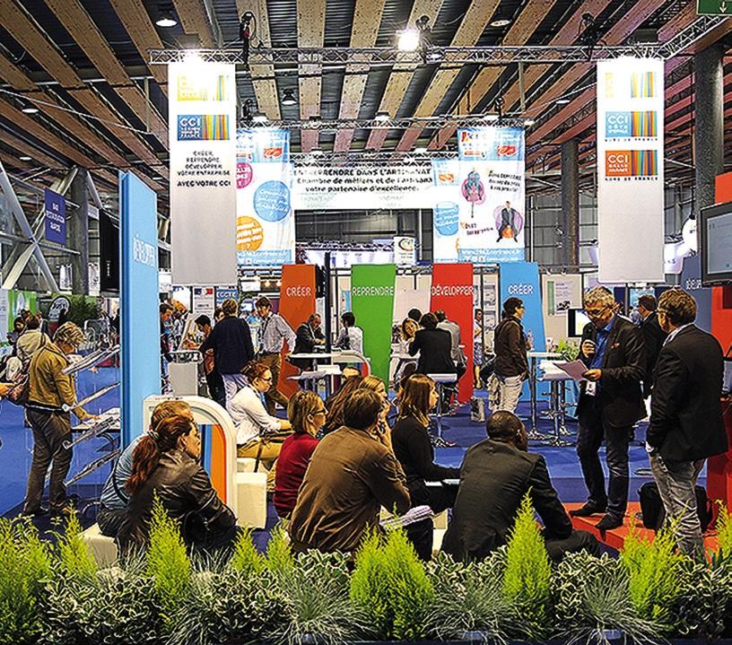 Le Salon Créer participe à la dynamique régionale.