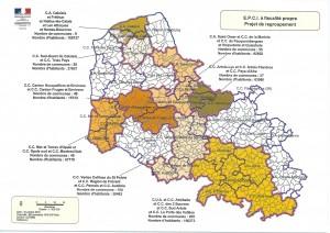 Projet de regroupement dans le département du Pas-de-Calais.