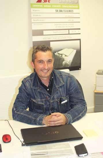 Anthony Rossi a le sourire : en un an sa société est passée de 2,5 à 5 M€ de CA.