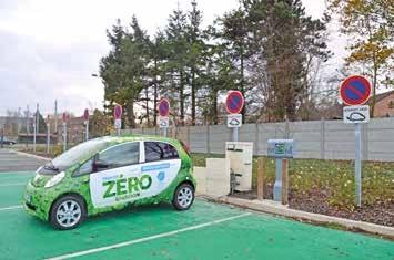 Quatre voitures électriques constituent 25% du parc de véhicules légers de la CASO.