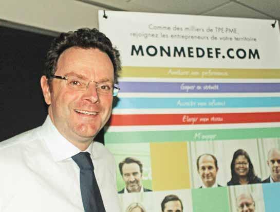 Frédéric Motte est le président du Medef Nord-Pas-de-Calais depuis novembre 2013.