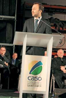 François Decoster, président de la CASO.