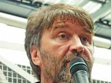 Eric Vercoutre, leader des marins de MyFerryLink qui s'étaient mobilisés le 24 janvier dernier au port de Calais.